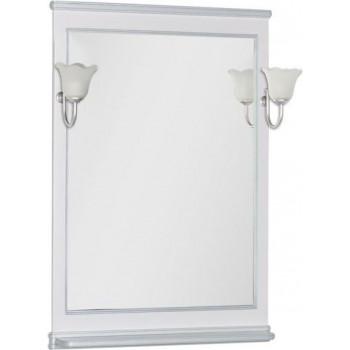 Зеркало Aquanet Валенса 80 белый краколет/серебро