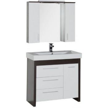 Комплект мебели для ванной Aquanet Тиана 90 венге