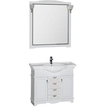 Комплект мебели для ванной Aquanet Луис 100 белый