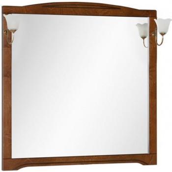 Зеркало Aquanet Луис 110 темный орех