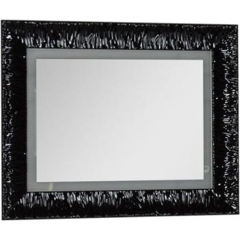 Зеркало c подсветкой и подогревом Aquanet Мадонна 90 черный