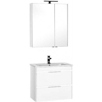 Комплект мебели для ванной Aquanet Тулон 75 белый