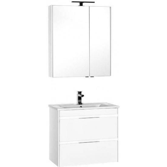 Комплект мебели для ванной Aquanet Тулон 75 белый в интернет-магазине ROSESTAR фото