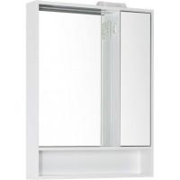 Зеркало-шкаф с подсветкой Aquanet Коста 65 белый