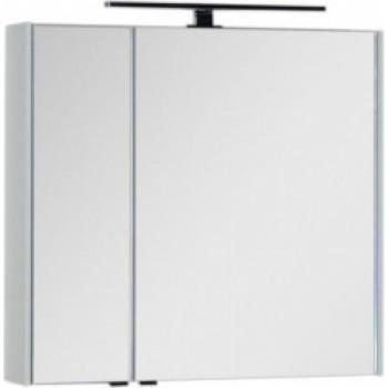 Зеркало-шкаф Aquanet Латина 80 белый
