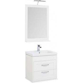 Комплект мебели для ванной Aquanet Денвер 65 белый