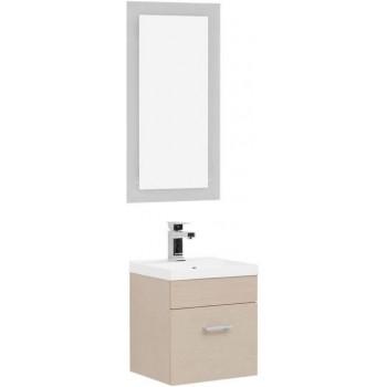 Комплект мебели для ванной Aquanet Нота NEW 40 лайт светлый дуб