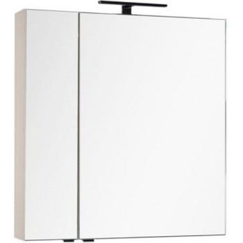 Зеркало-шкаф Aquanet Эвора 80 бежевый