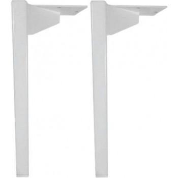 Ножки для мебели Aquanet Nova белый, 2 шт