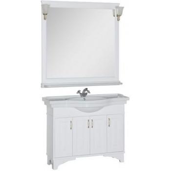 Комплект мебели для ванной Aquanet Валенса 110 белый