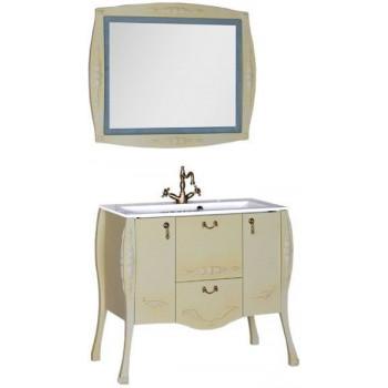 Комплект мебели для ванной Aquanet Виктория 90 олива