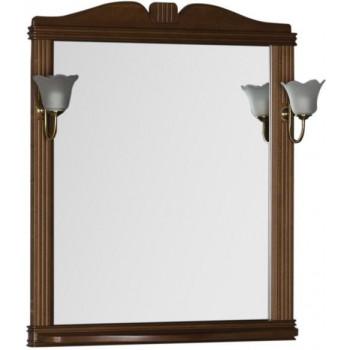 Зеркало Aquanet Николь 80 орех