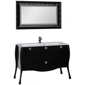 Комплект мебели для ванной Aquanet Мадонна 120 черный