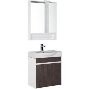 Комплект мебели для ванной Aquanet Коста 65 белый/дуб антик