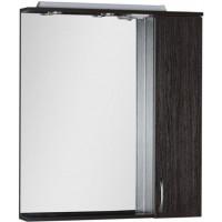 Зеркало-шкаф с подсветкой Aquanet Донна 80 венге