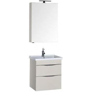 Комплект мебели для ванной Aquanet Эвора 60 крем