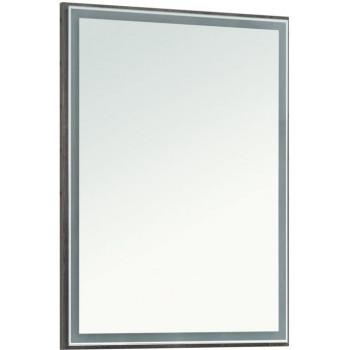 Зеркало Aquanet Nova Lite 60 дуб рошелье LED