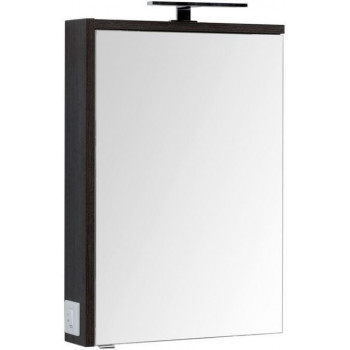 Зеркало-шкаф Aquanet Фостер 60 эвкалипт мистери/белый