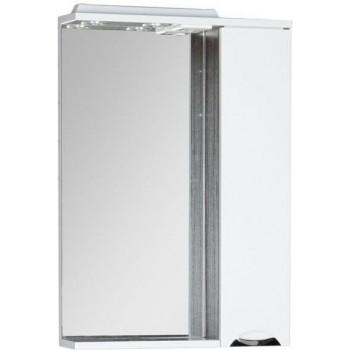 Зеркало-шкаф с подсветкой Aquanet Гретта 60 венге