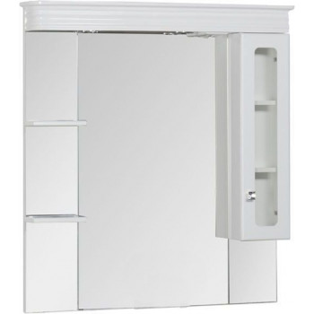 Зеркало-шкаф Aquanet Греция 110 белый