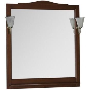 Зеркало Aquanet Амелия 90 орех