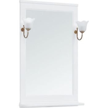 Зеркало Aquanet Валенса NEW 65 белый