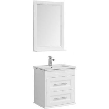Комплект мебели для ванной Aquanet Бостон М 60 белый
