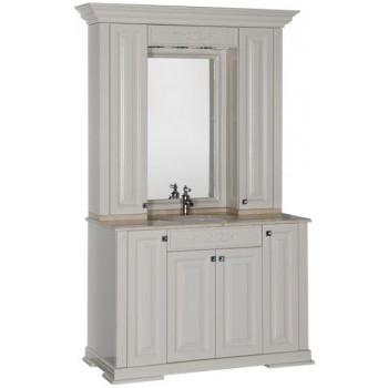 Комплект мебели для ванной Aquanet Кастильо 120 слоновая кость