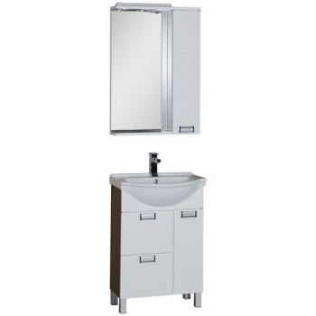 Комплект мебели для ванной Aquanet Сити 60 венге