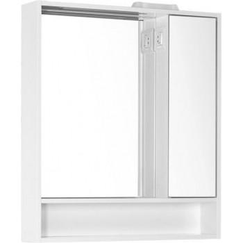 Зеркало-шкаф с подсветкой Aquanet Коста 76 белый