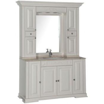 Комплект мебели для ванной Aquanet Кастильо 140 слоновая кость