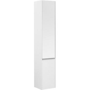 Шкаф-пенал для ванной Aquanet Гласс 35 белый