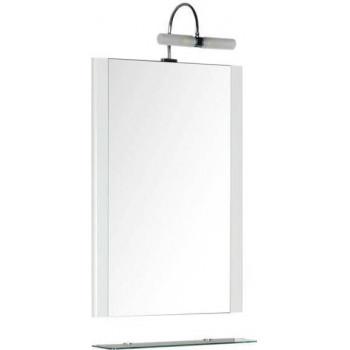 Зеркало Aquanet Асти 55 белый