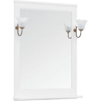 Зеркало Aquanet Валенса NEW 75 белый