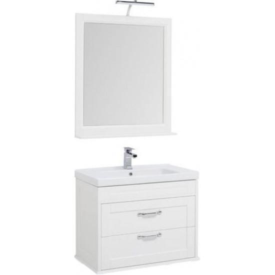 Комплект мебели для ванной Aquanet Денвер 80 белый в интернет-магазине ROSESTAR фото