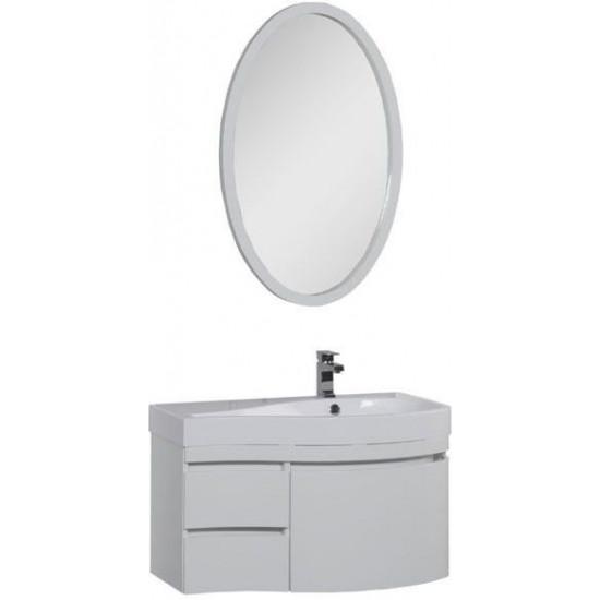 Комплект мебели для ванной Aquanet Сопрано 95 R белый (3 ящика) в интернет-магазине ROSESTAR фото