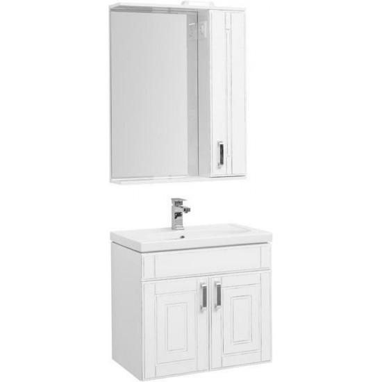 Комплект мебели для ванной Aquanet Рондо 70 белый антик (2 дверцы) в интернет-магазине ROSESTAR фото