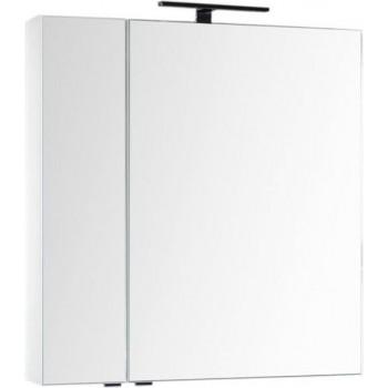 Зеркало-шкаф Aquanet Эвора 80 белый