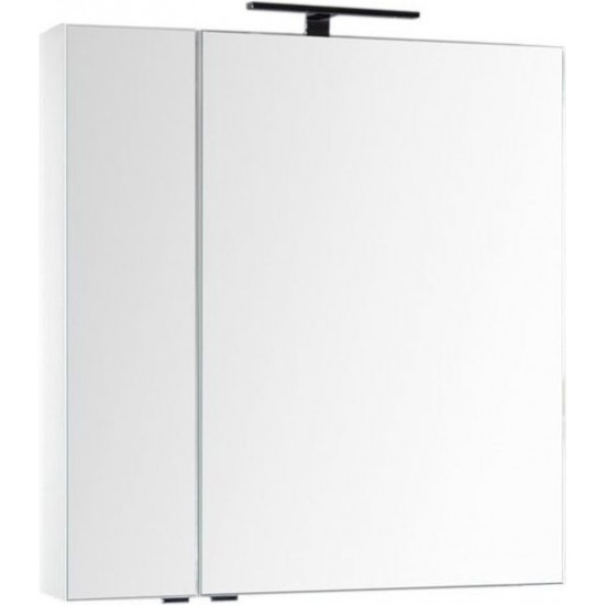 Зеркало-шкаф Aquanet Эвора 80 белый в интернет-магазине ROSESTAR фото