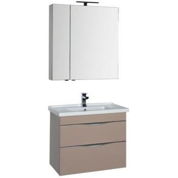 Комплект мебели для ванной Aquanet Эвора 80 капучино