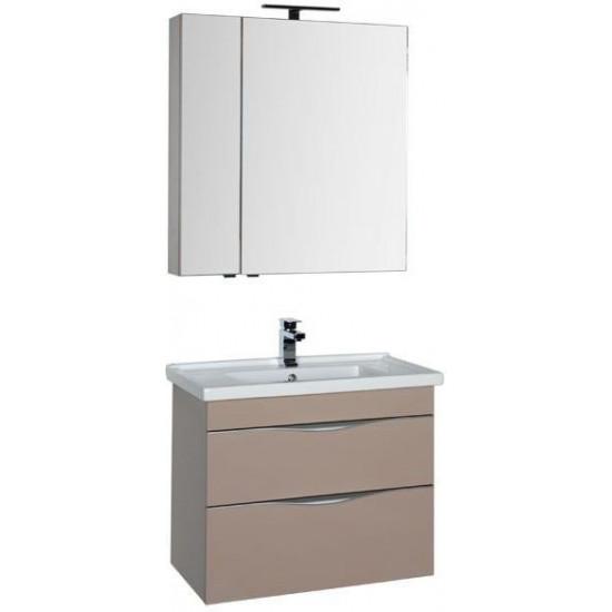Комплект мебели для ванной Aquanet Эвора 80 капучино в интернет-магазине ROSESTAR фото