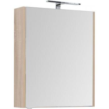 Зеркало-шкаф Aquanet Остин 65 дуб сонома
