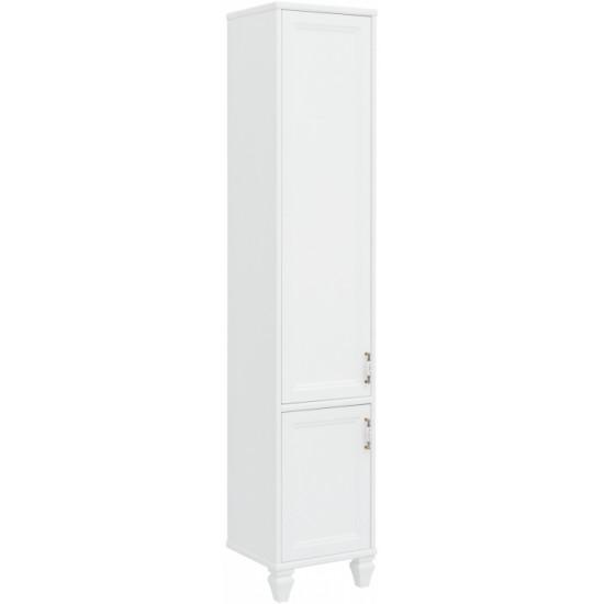 Шкаф-пенал для ванной Aquanet Валенса NEW 40 L белый в интернет-магазине ROSESTAR фото