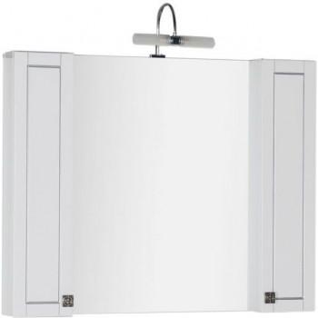 Зеркало-шкаф Aquanet Честер 105 белый