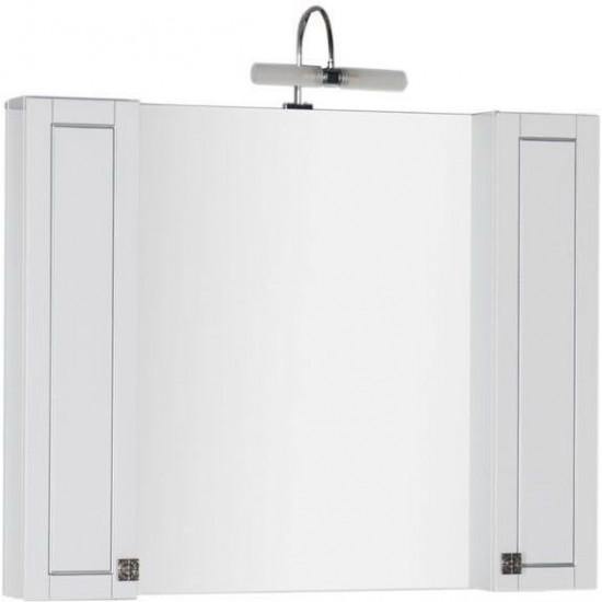 Зеркало-шкаф Aquanet Честер 105 белый в интернет-магазине ROSESTAR фото
