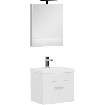 Комплект мебели для ванной Aquanet Нота NEW 50 белый
