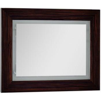 Зеркало c подсветкой и подогревом Aquanet Мадонна 90 эбен