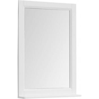 Зеркало Aquanet Бостон М 60 белый