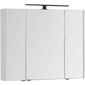 Зеркало-шкаф Aquanet Латина 90 белый