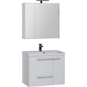 Комплект мебели для ванной Aquanet Тиволи 80 белый